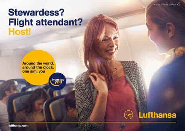 Reklama Lufthansy