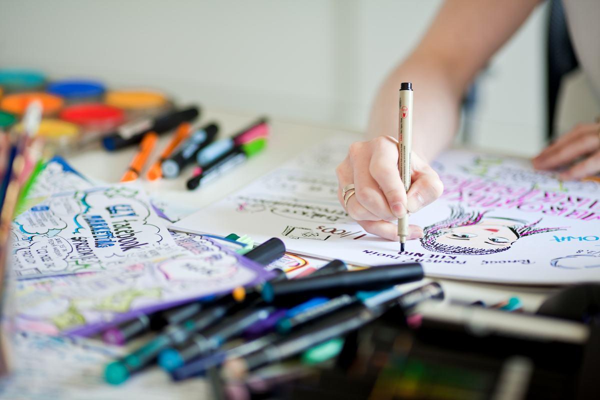Jak powstają sketchnotki