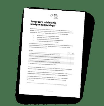 Procedury udzielania kredytu kupieckiego