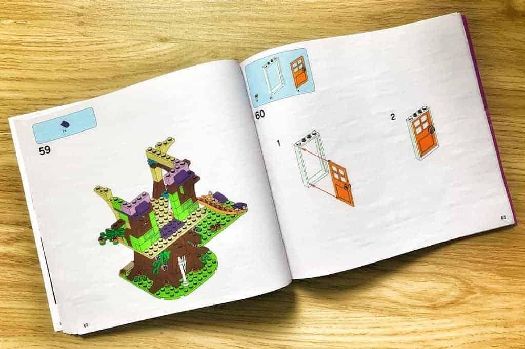 Warto pokazać kolejne kroki procesu, takjak Lego pokazuje etapy składania klocków wswoich instrukcjach.