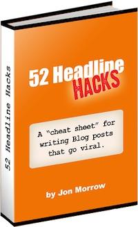52 headline hacks - okładka