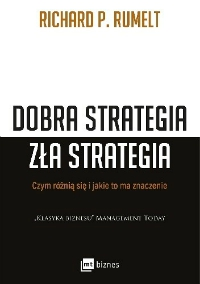Dobra Strategia Zła Strategia - okładka