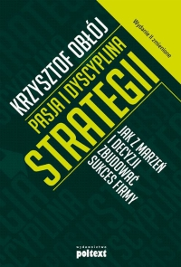 Pasja idyscyplina strategii - okładka