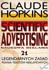 Scientific advertising - okładka