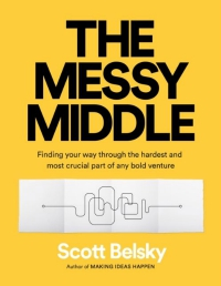 The messy middle - okładka