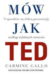 Mów jak TED - okładka