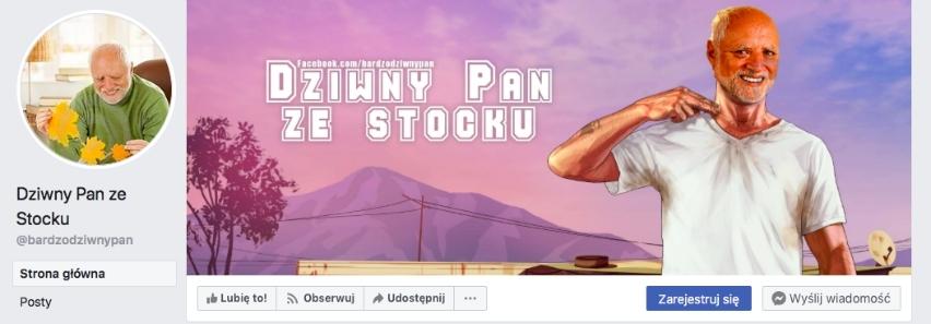 Fanpage Dziwny Pan zeStocku