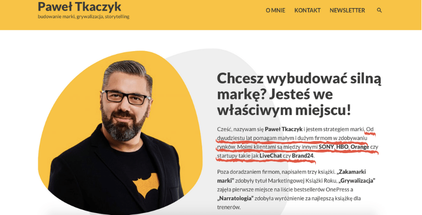 Biografia Pawła Tkaczyka