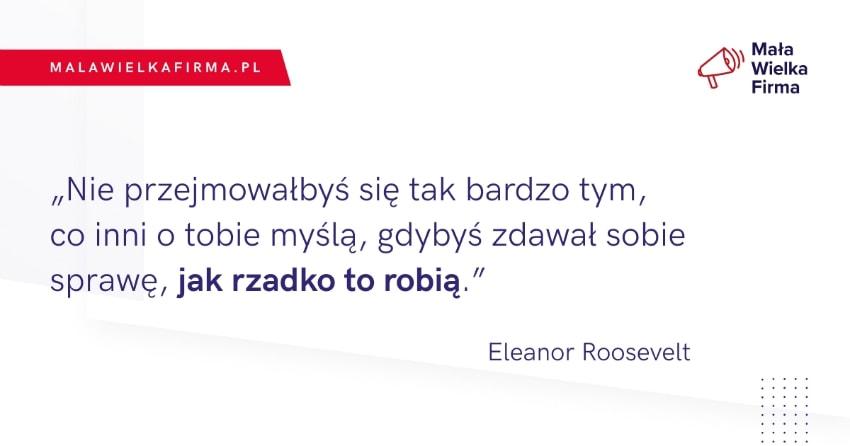 Cytat Eleanor Roosevelt