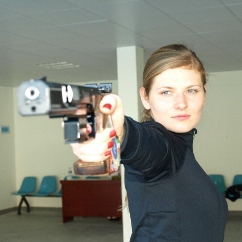Strzelectwo sportowe Karolina Bujakowska