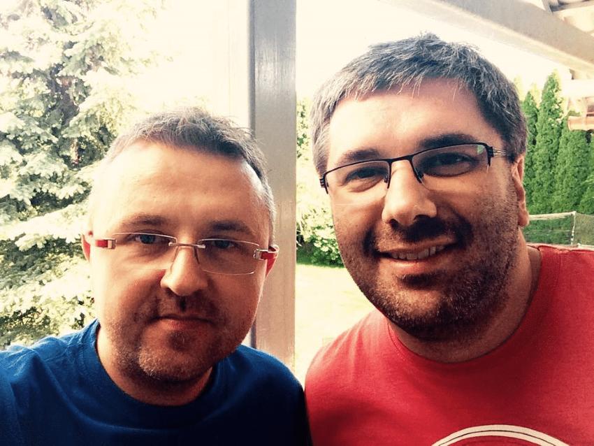 Marek Jankowski iPaweł Tkaczyk – początki podcastu