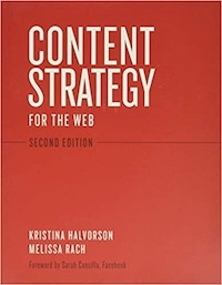 Content strategy for the web - okładka